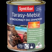 Tarasy Meble Szybkoschnący Olej Zewnętrzny 0.75L