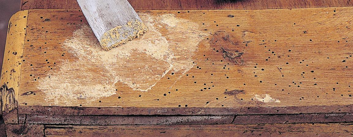 naprawić drewniane meble